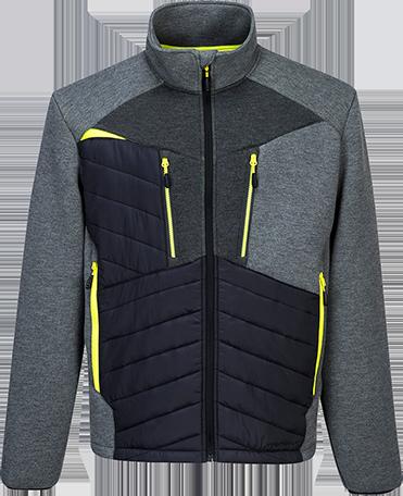 DX4 Baffle kabát metál szürke 3XL